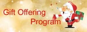 Gift Offering Program