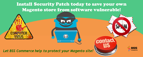 Install Magento Security patch with BSScommerce