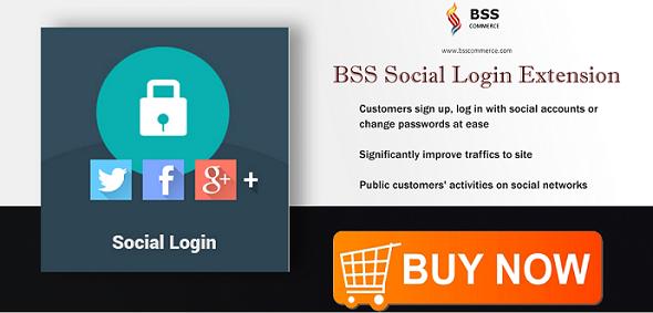 BSS social login extension