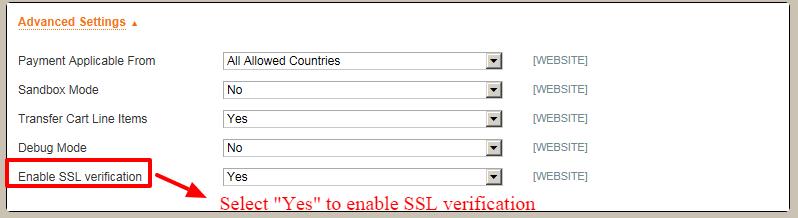 Paypal-adbanced-settings