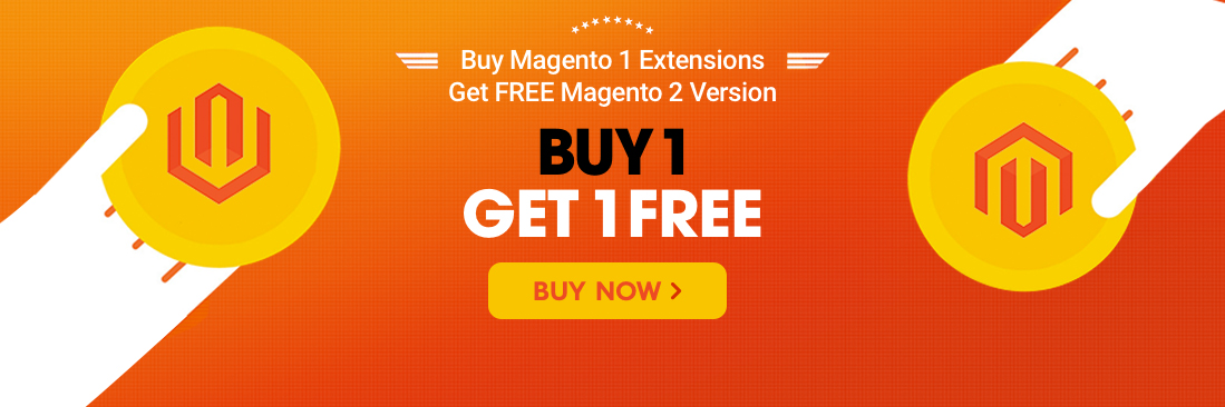 magento promotion get one buy one bogo