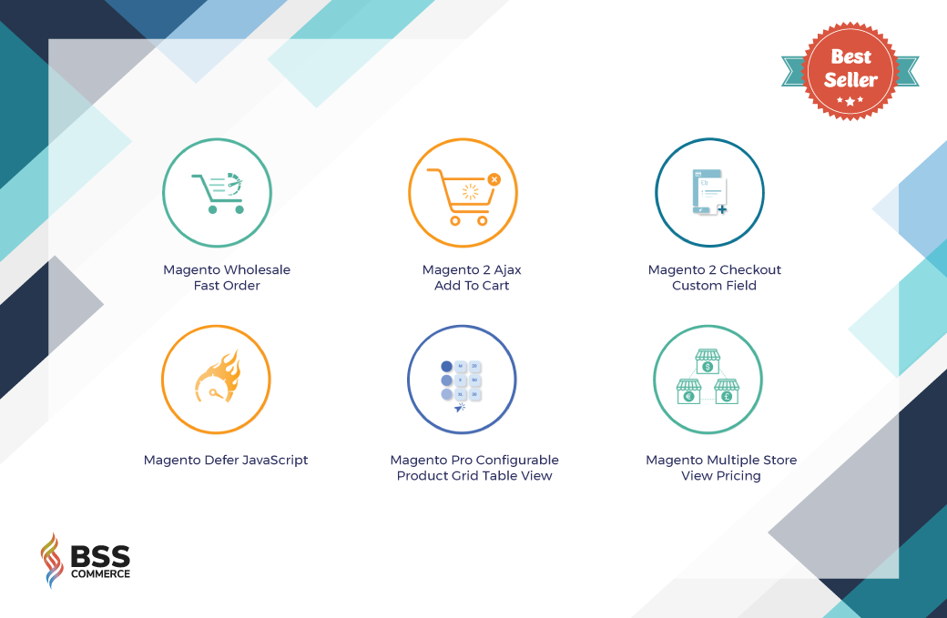 Magento best-seller extensions by BSSCommerce