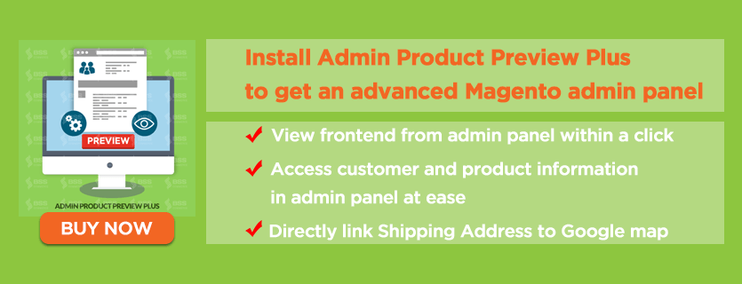 get advanced magento admin panel