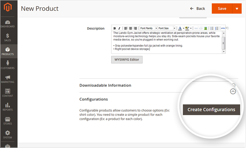 Create-configurable-products-magento 2-step 2
