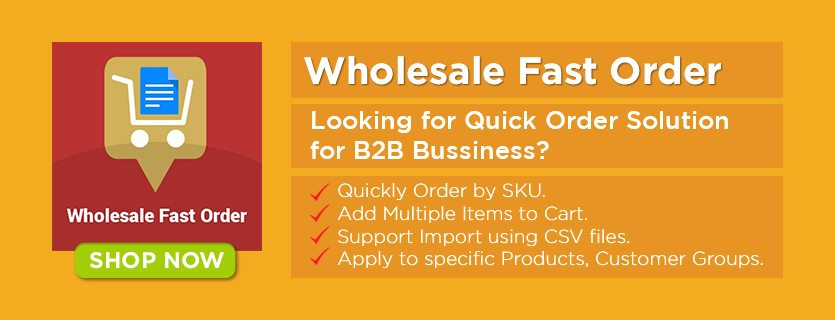 Wholesale Fast Order Magento