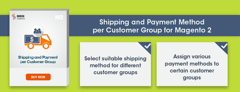 Shipping-Payment-Customer Group