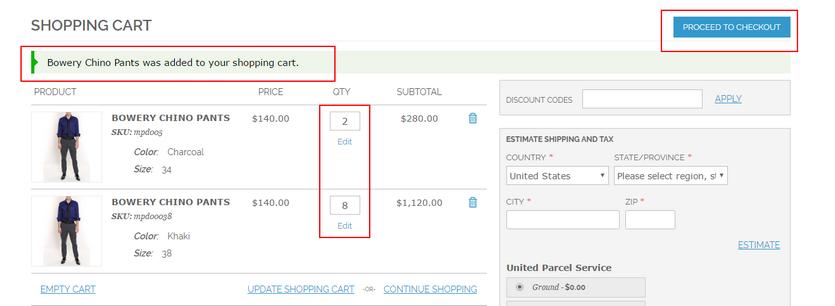 minimum quantity for configurable product is met
