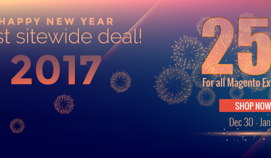 magento extension discount on new year 2017