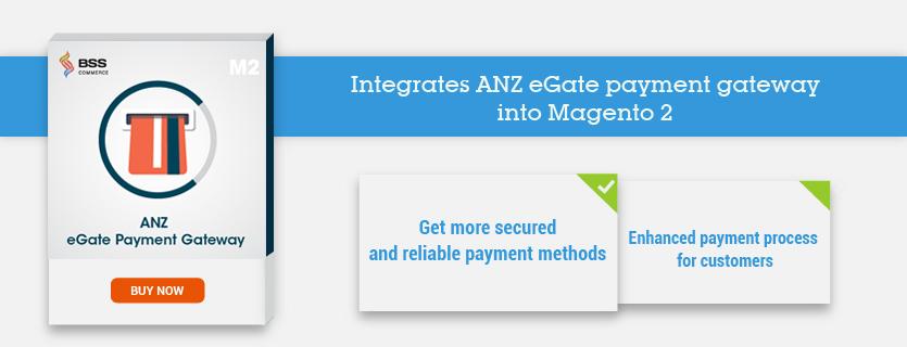 magento 2 anz egate payment gateway