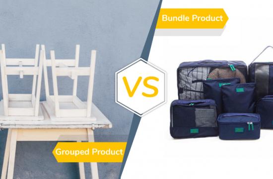 Grouped Product vs Bundle Product Magento2