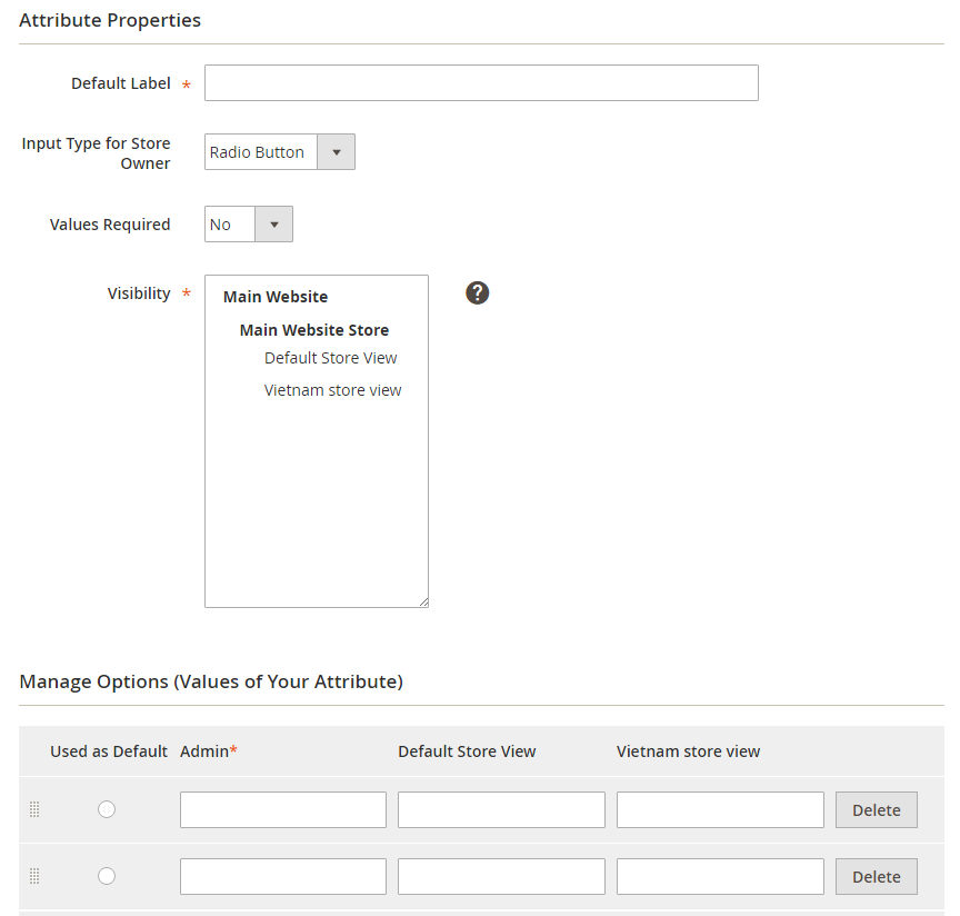 magento 2 checkout custom field Specify attribute properties