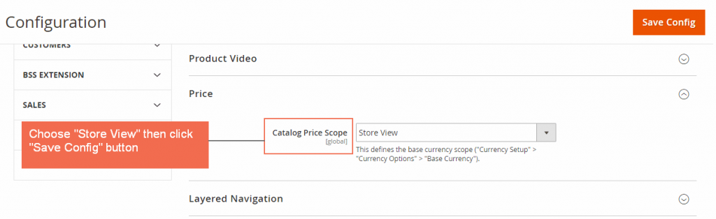magento 2 multiple store view pricing-enable