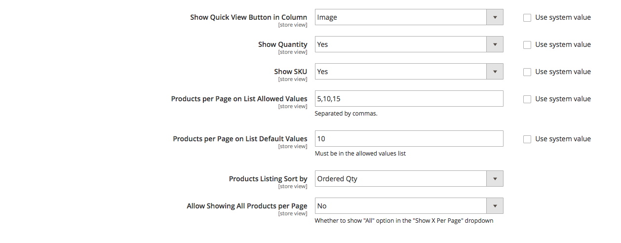 Reorder Product List M2 backend 3