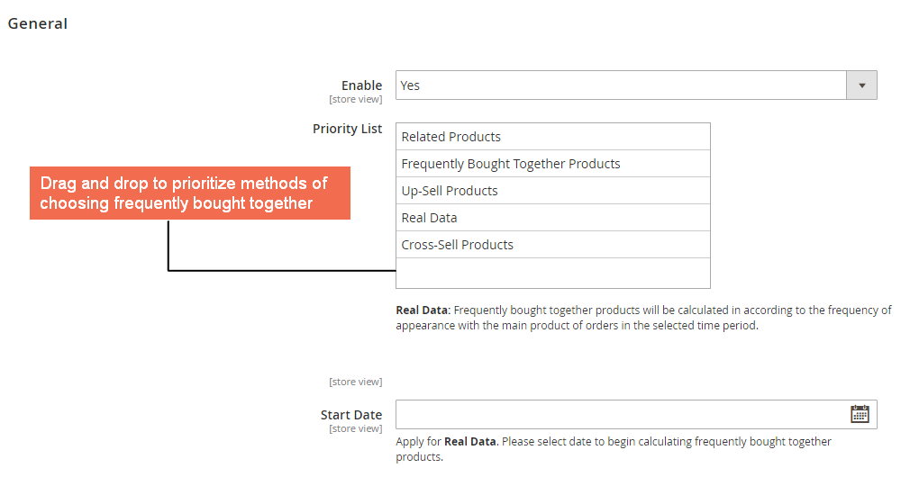 magento 2 Five methods to select items to be displayed on Frequently Bought Together block