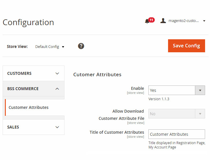 magento add attribute to customer