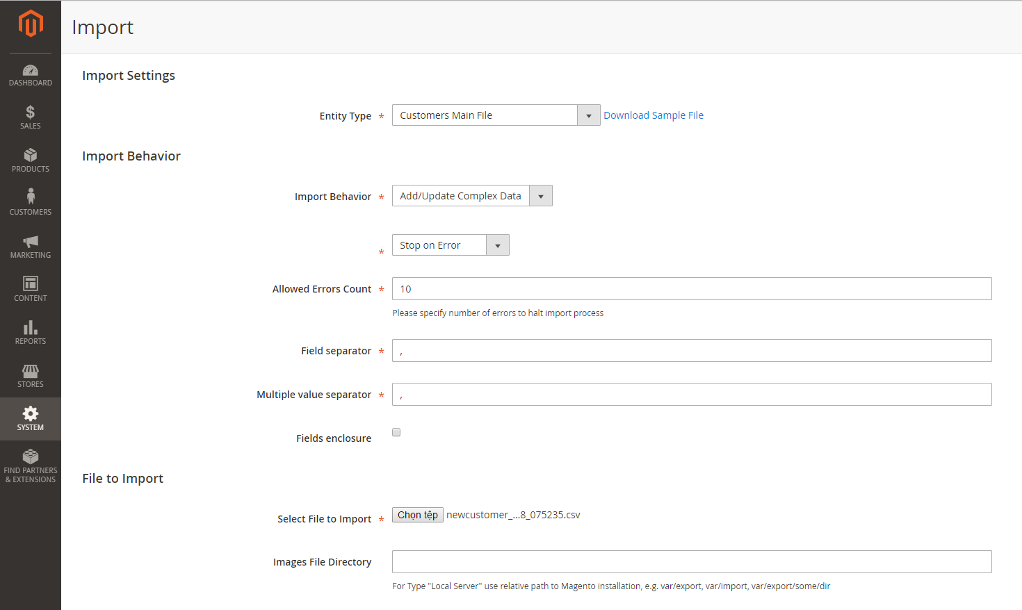 How to Import Customer Data