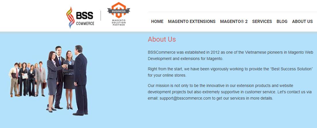 BSSCommerce new magento business partner