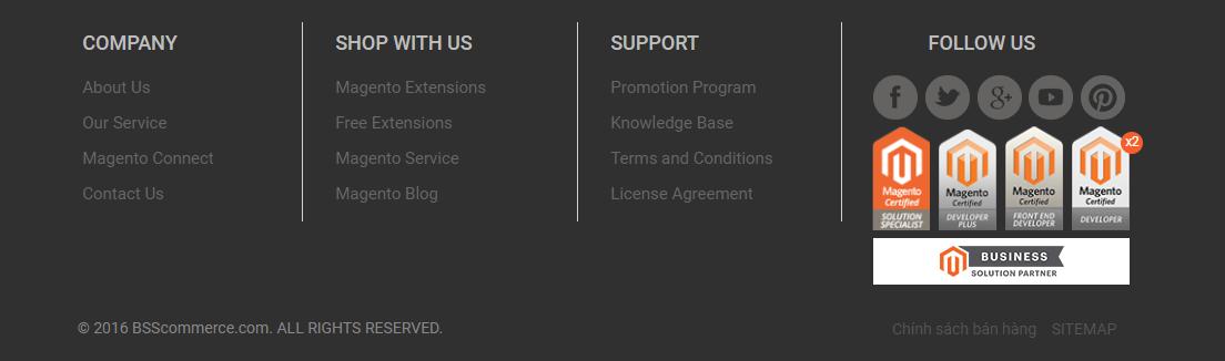 BSSCommerce certified developer