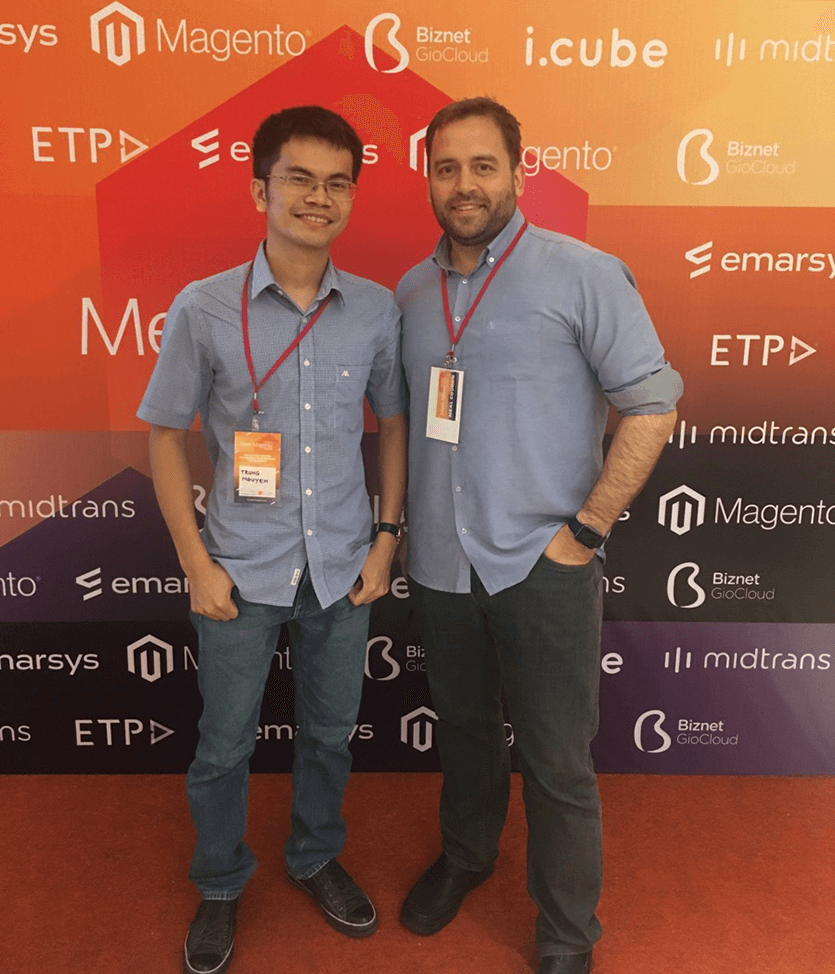 Meet Magento Indonesia 2017 Ben Marks and Trung Nguyen