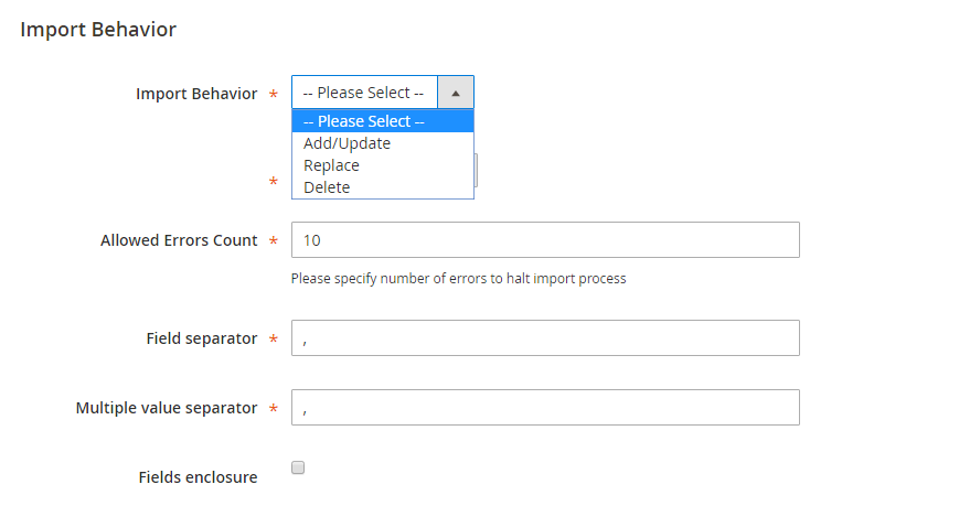magento-2-import-product-behavior
