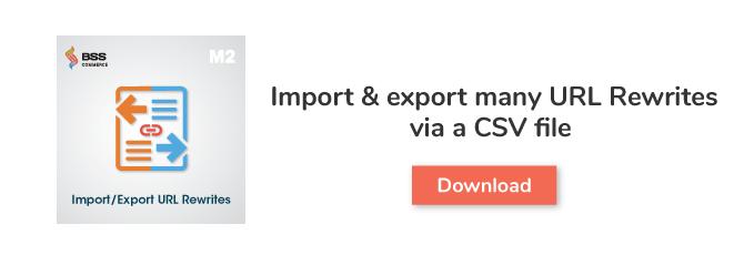 M2-Import.Export-URL-Rewrite