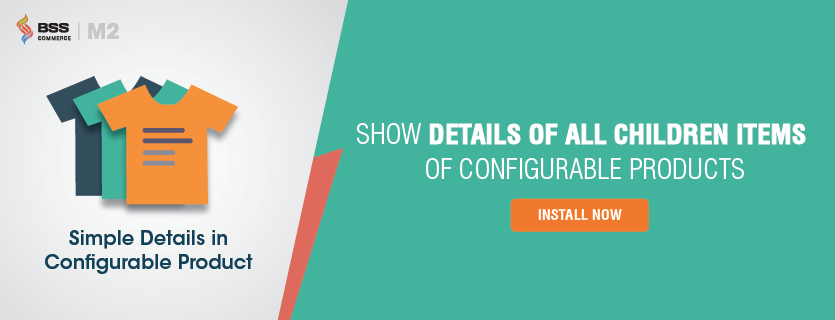 show Simple Details on Configurable Product in Magento 2
