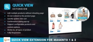 Quick View Extension for Magento