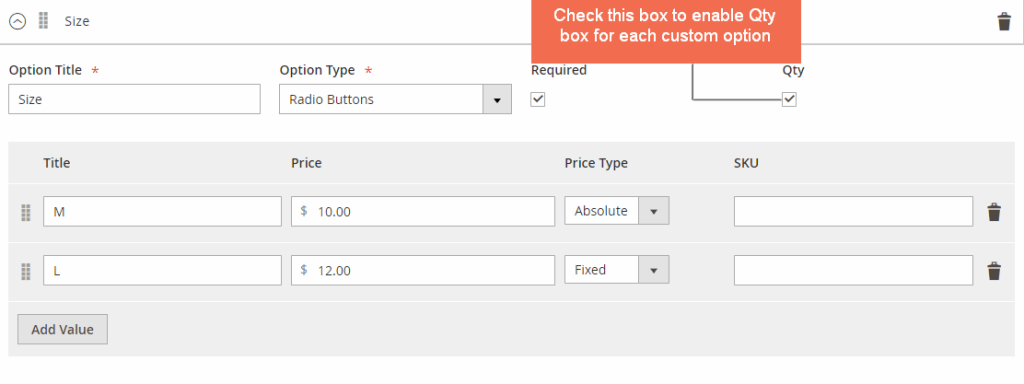 Magento 2 Custom Options extension