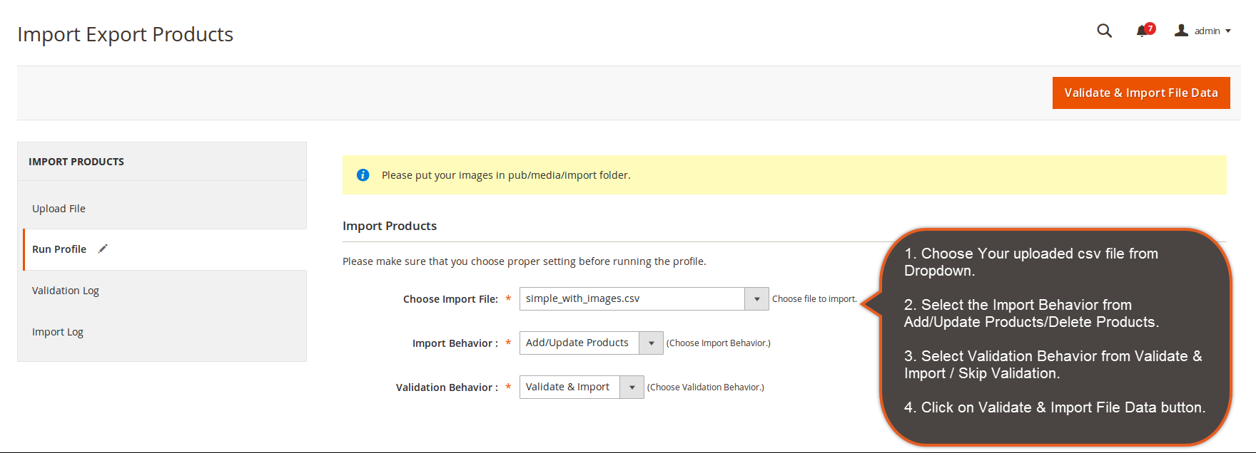 magento 2 import export products extension - magebees
