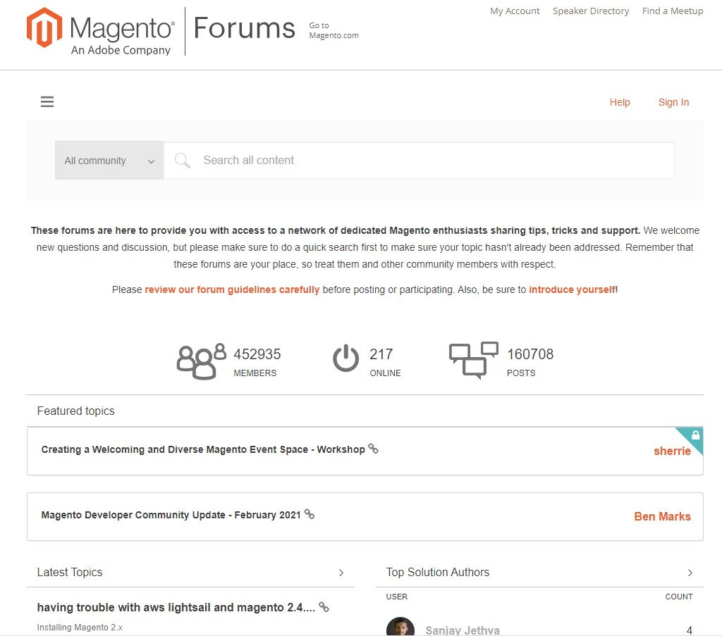 magento channel