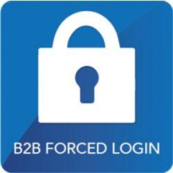 B2B Forced Login