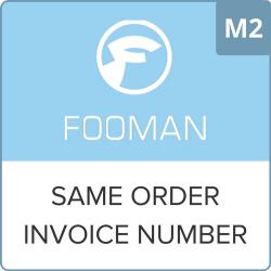 Same Order Invoice Number