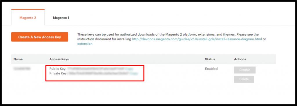 magento-install-extension-get-access-keys