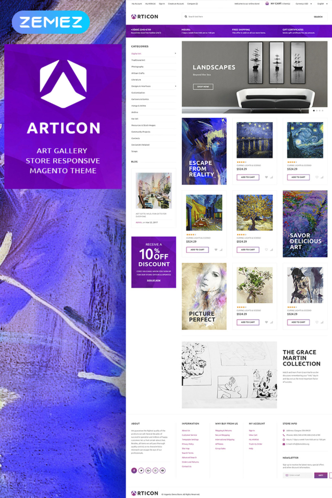 premium-magento-2-theme-articon