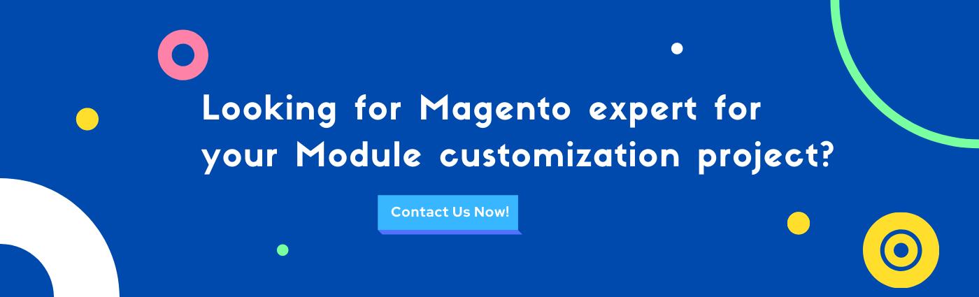 magento module creation & customization service