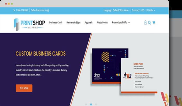 Printshop-magento-b2b-theme