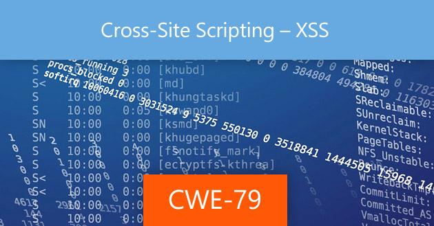 XSS Problems under CWE-79