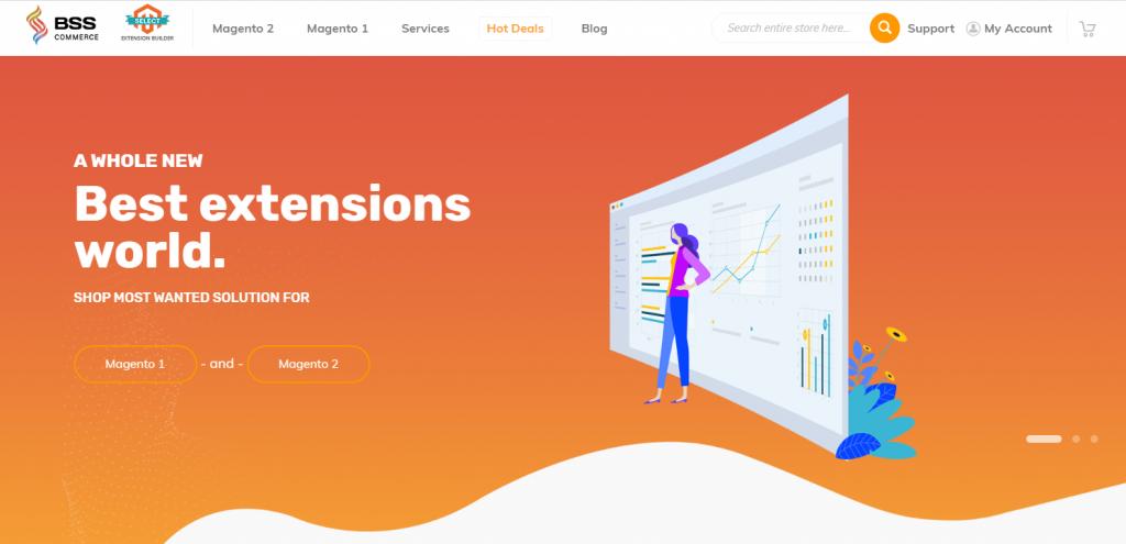 bsscommerce website