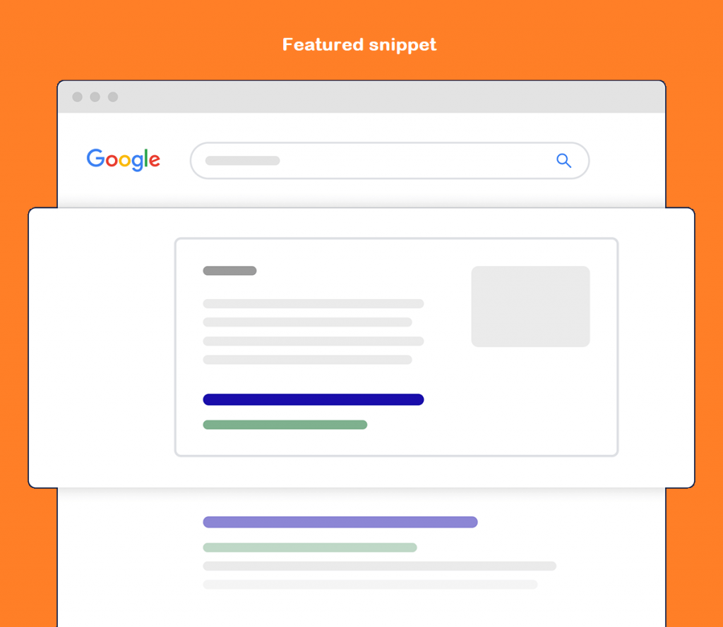 featured snippet for seo