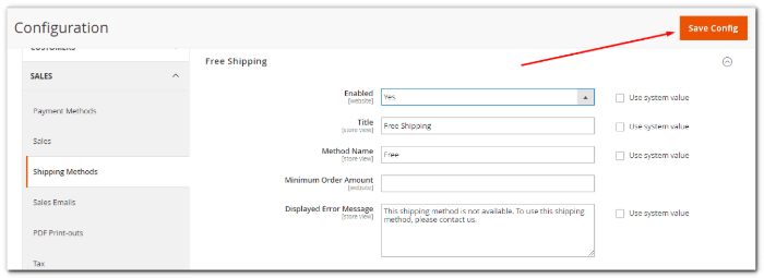 free-shipping-general-settings
