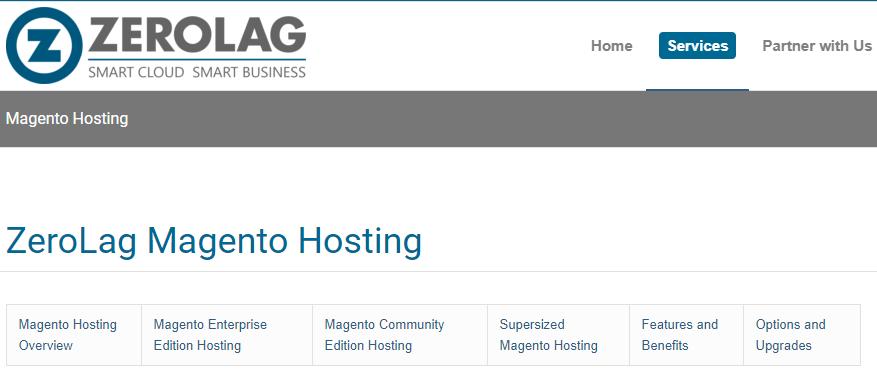 zerolag-best magento hosting
