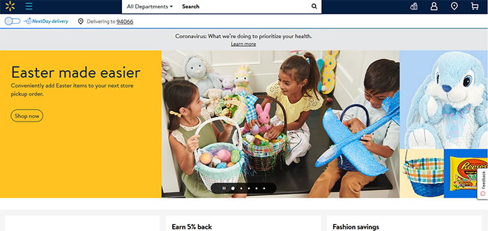 Walmart-homepage