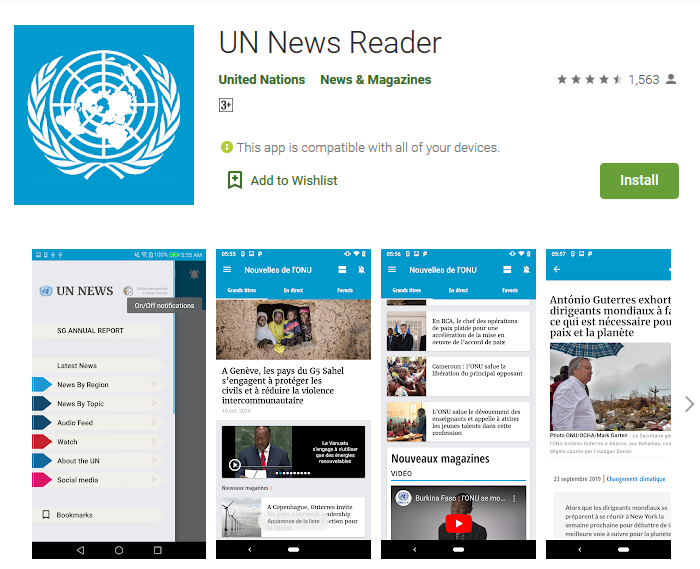 un-news-reader-google-play-store