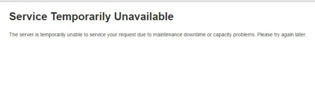 unavailable-page-in-maintenance-mode