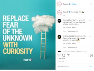 b2b marketing on instagram foundr