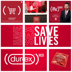 durex's sample strategy for b2b marketing on instagram
