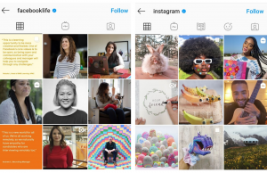 b2b marketing on instagram sample