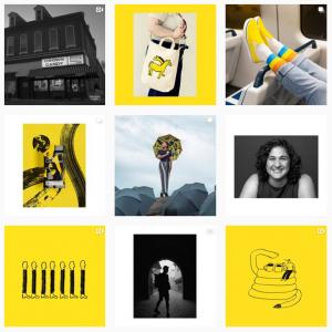 mailchimp's sample strategy for b2b marketing on instagram