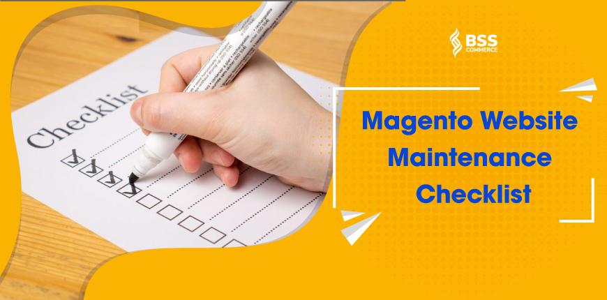 magento-website-maintenance-checklist