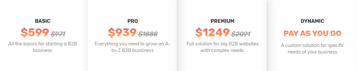 magento b2b pricing